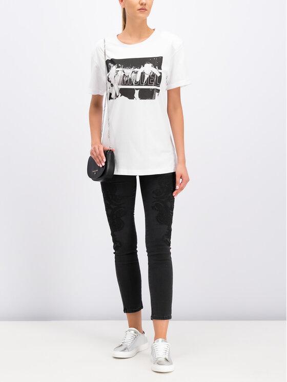 Silvian Heach Silvian Heach T-Shirt Kader CVP19249TS Biały Regular Fit