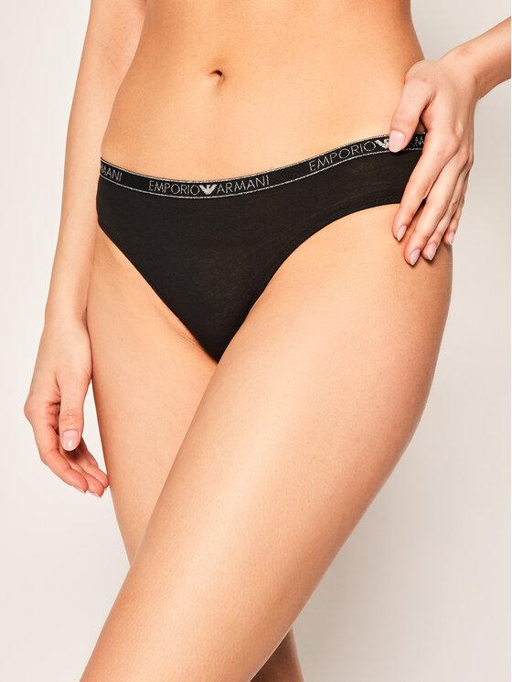 Emporio Armani Underwear Emporio Armani Underwear Klasikinės kelnaitės 162428 0P263 00020 Juoda
