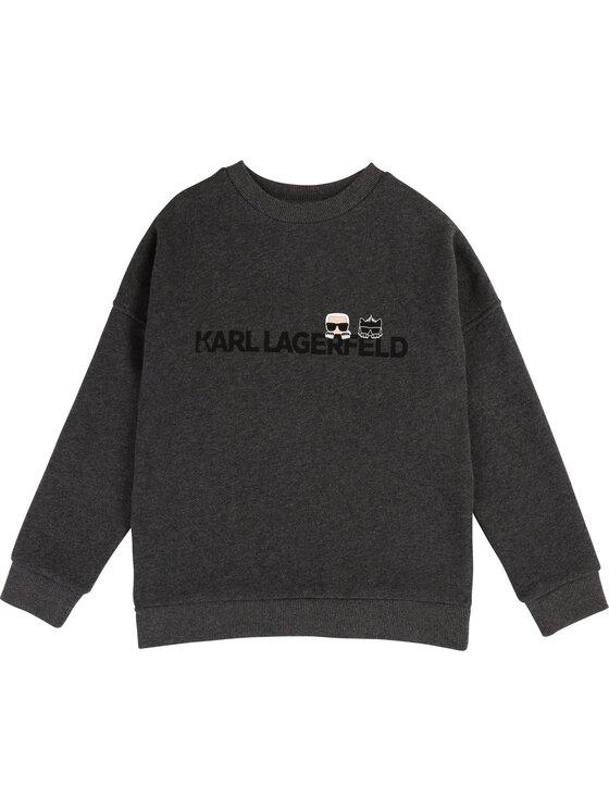 KARL LAGERFELD KARL LAGERFELD Sweatshirt Z25201 D Gris Regular Fit