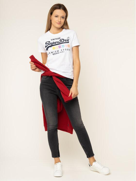 Superdry Superdry T-Shirt Premium Goods Puff G10306AU Bílá Regular Fit