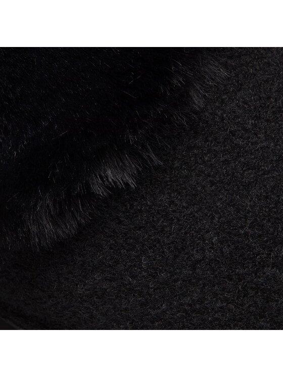 Crocs Crocs Papucs Classic Luxe Slipper 205394 Fekete