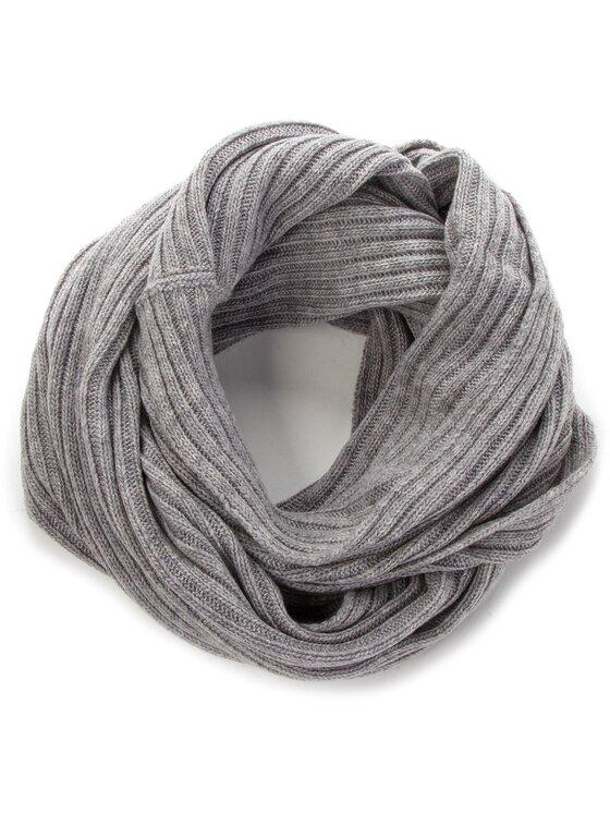 Trussardi Trussardi Szal Neck Rib-Knitted 59Z00077 Szary