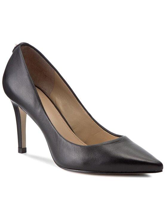 Guess Guess Обувки на ток Ele7 FLEL73 LEA08 Черен
