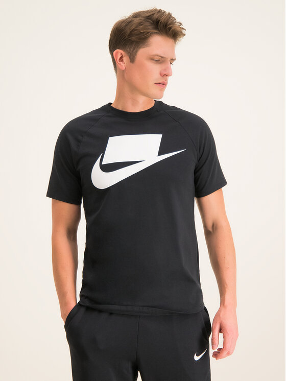 Nike Nike T-shirt Nsw SS Tee BV7595 Nero Standard Fit
