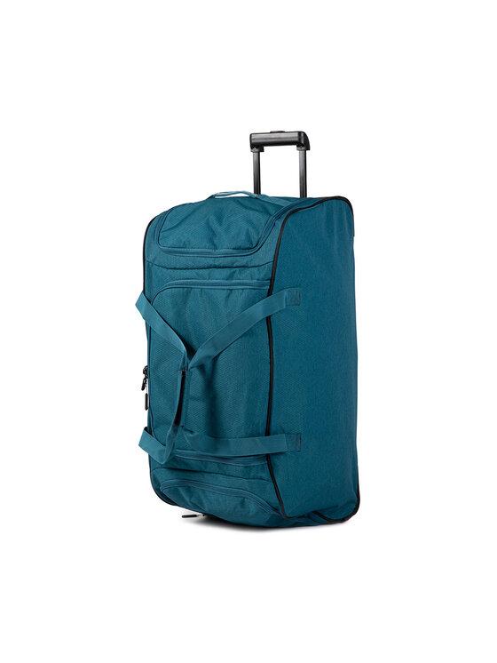 Travelite Didelis Medžiaginis Lagaminas 96276-01 Mėlyna