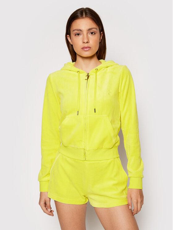 Juicy Couture Džemperis Robertson JCCA221001 Geltona Regular Fit