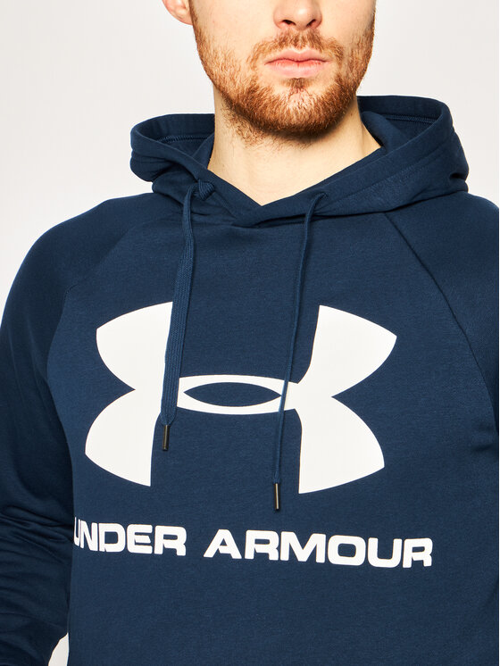 Under Armour Under Armour Felpa UA Rival 1345628 Blu scuro Regular Fit