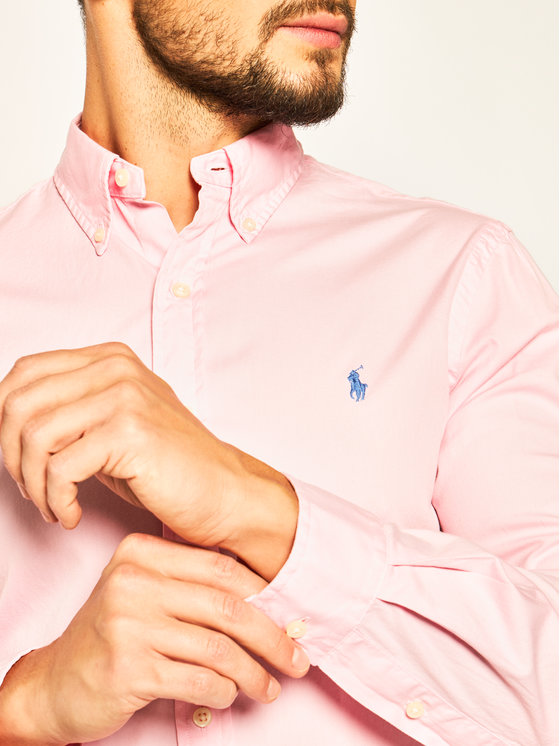 Polo Ralph Lauren Polo Ralph Lauren Hemd Classics 710787192 Rosa Slim Fit