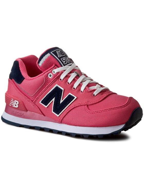 New Balance New Balance Sneakersy WL574POP Różowy