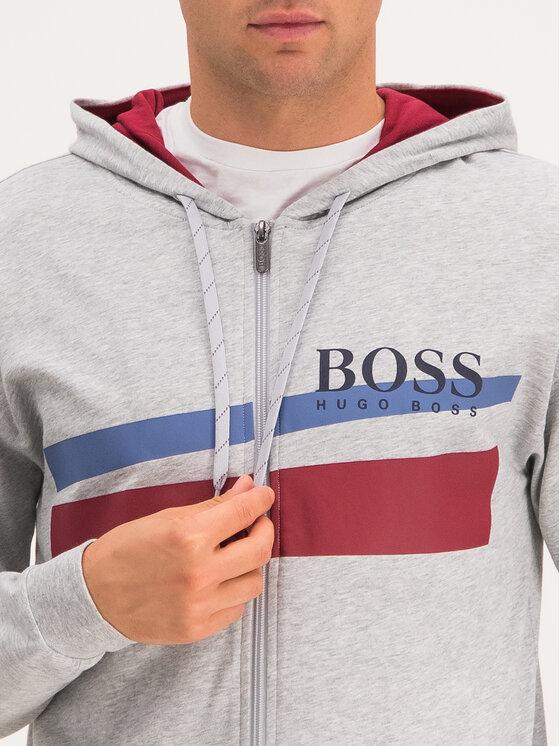 Boss Boss Bluza 50414491 Szary Regular Fit