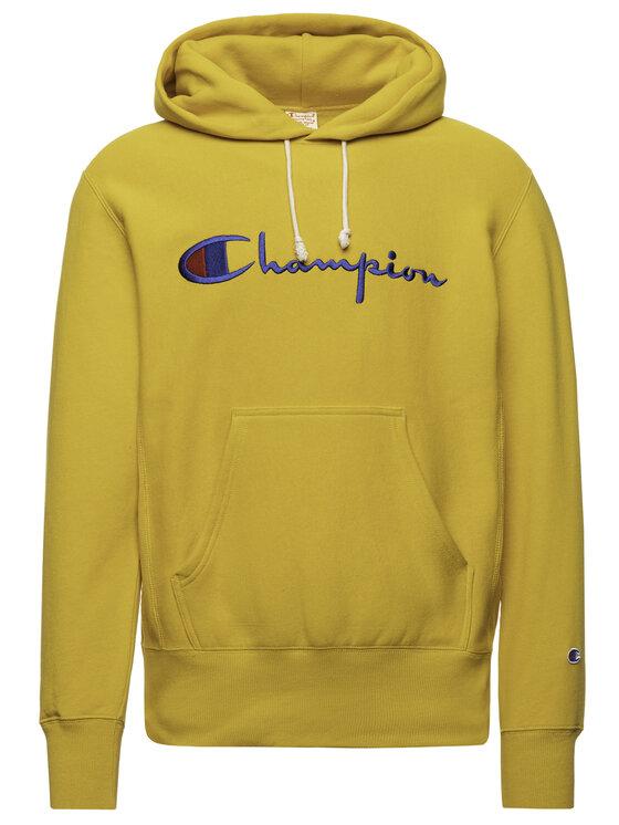 Champion Champion Bluza 212574 Żółty Regular Fit