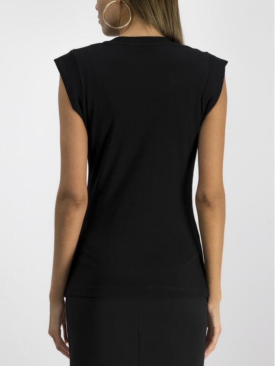 Versace Jeans Couture Versace Jeans Couture Felső B2HUA7DG Fekete Regular Fit