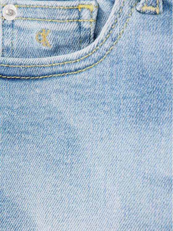 Calvin Klein Jeans Calvin Klein Jeans Пола Denim IG0IG00457 Син Straight Fit