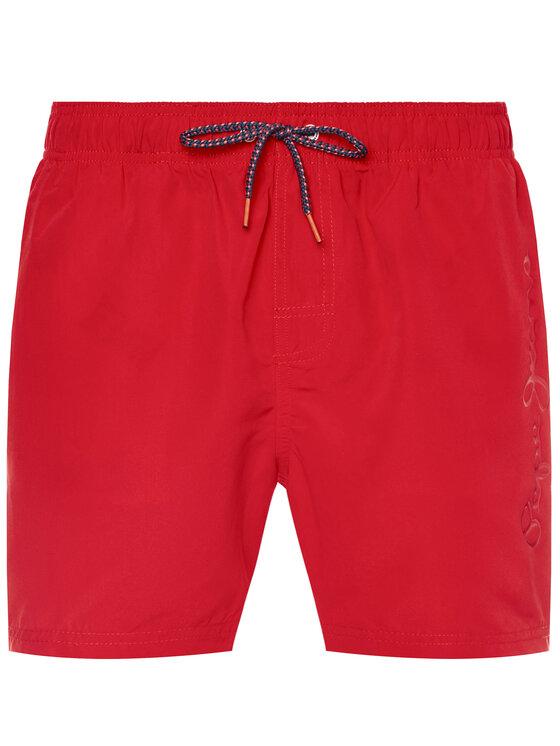 Pepe Jeans Pepe Jeans Σορτς κολύμβησης Bryan PMB10236 Κόκκινο Regular Fit