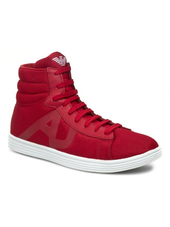 Armani Jeans Armani Jeans Poltopánky V6516 18 T4 Červená