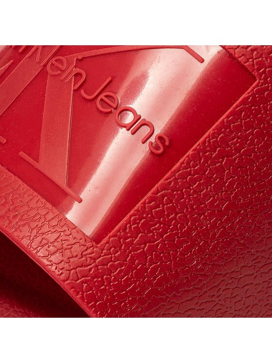 Calvin Klein Jeans Calvin Klein Jeans Ciabatte Vincenzo S0547 Rosso
