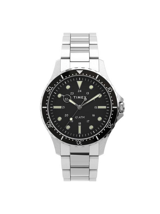 Timex Laikrodis Navi TW2U10800 Sidabrinė