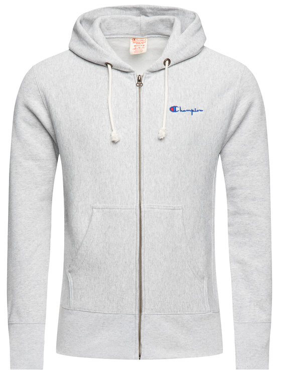 Champion Champion Bluză 212579 Gri Regular Fit