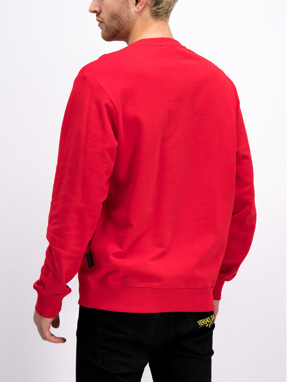 Versace Jeans Couture Versace Jeans Couture Bluză B7GUA7FY Roșu Regular Fit