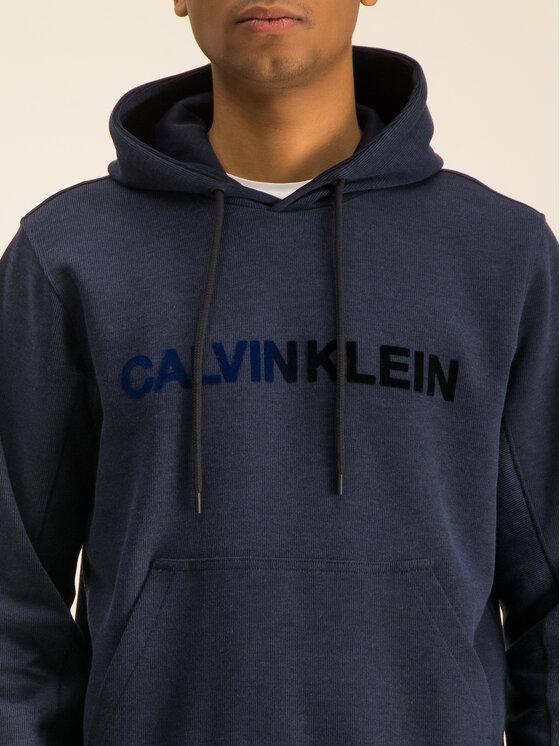 Calvin Klein Calvin Klein Pulóver Tone On Tone Logo K10K104954 Sötétkék Regular Fit