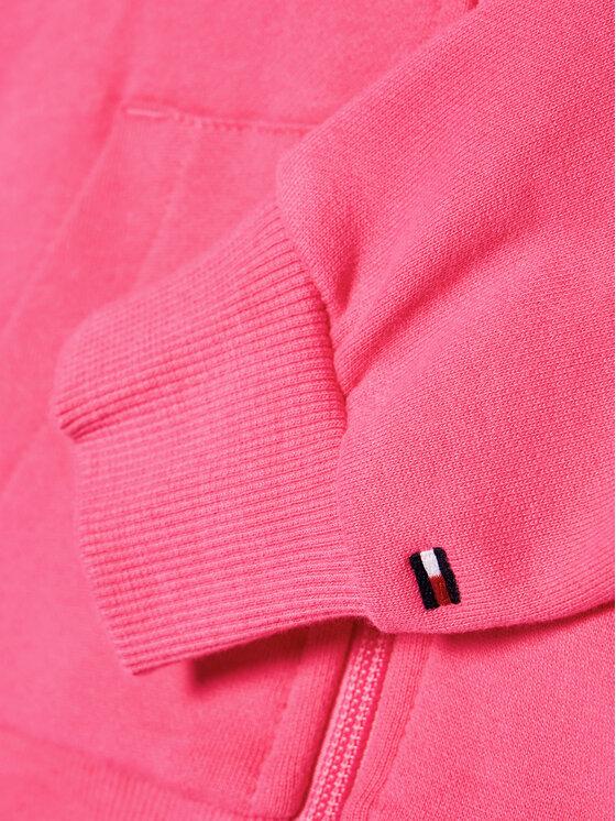 Tommy Hilfiger Tommy Hilfiger Bluza Flag Print KG0KG05765 D Różowy Regular Fit