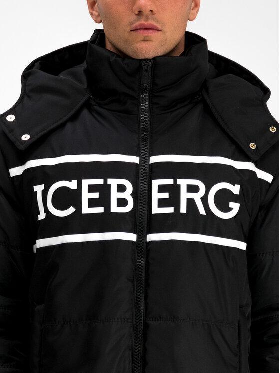 Iceberg Iceberg Kurtka zimowa 19I1P000305347 Czarny Regular Fit