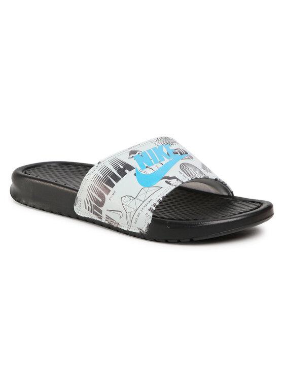 Nike Nike Klapki Benassi Jdi Print 631261 041 Biały