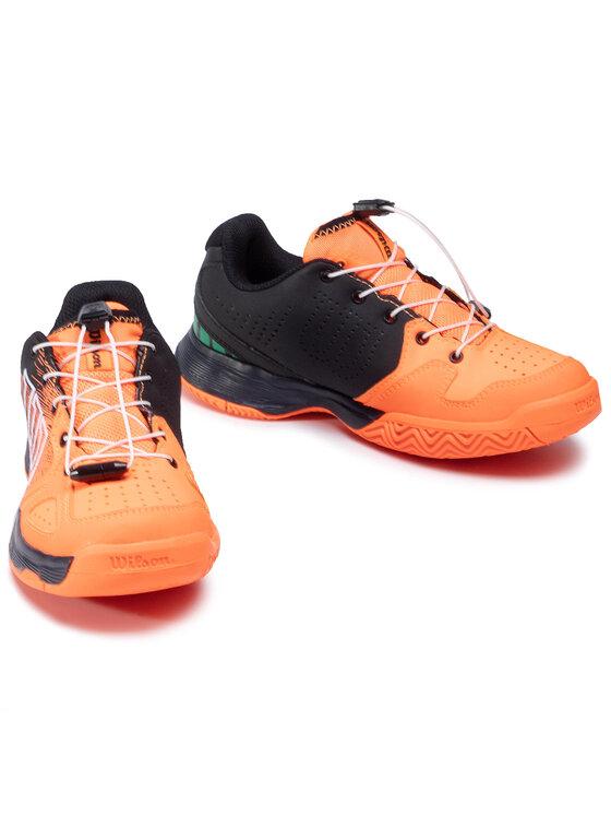 Wilson Wilson Buty Kaos Junior Ql WRS327080 Pomarańczowy