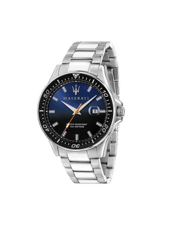 Maserati Laikrodis Sfida R8853140001 Sidabrinė