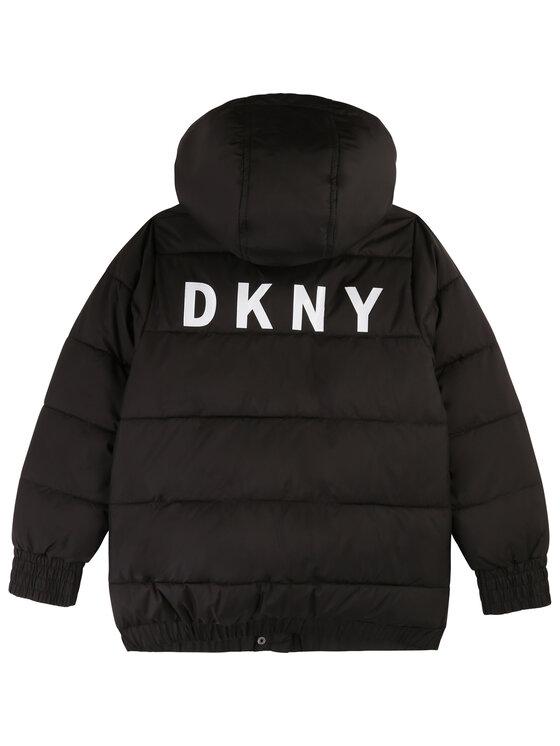 DKNY DKNY Kurtka puchowa D36607 Czarny Regular Fit