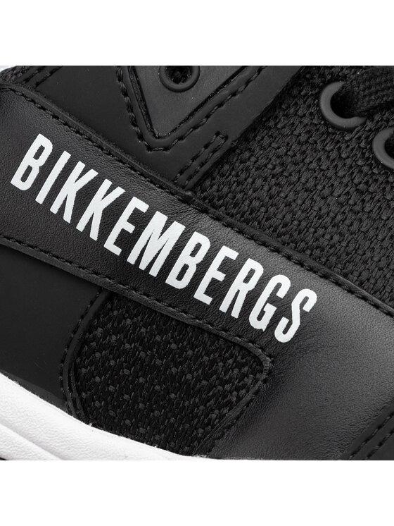 Bikkembergs Bikkembergs Laisvalaikio batai Low Top Lace Up B4BKM0040 Juoda