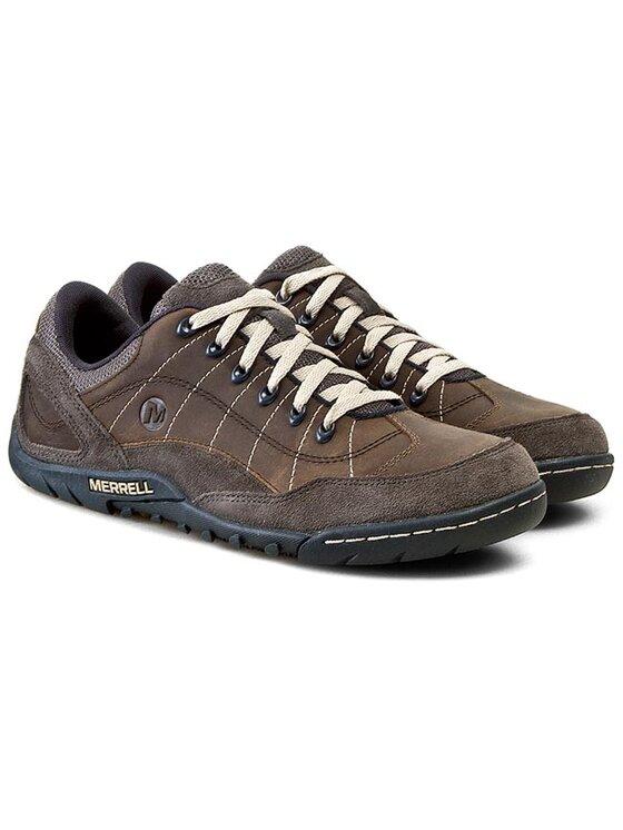 Merrell Merrell Κλειστά παπούτσια Sector Pike J23575 Καφέ