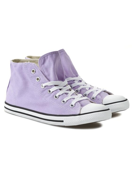 Converse Converse Trampki CT Dainty Mid 542511F Fioletowy