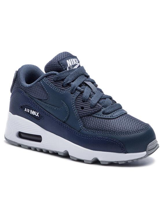 Nike Chaussures Air Max 90 Mesh (Ps) 833420 410 Bleu marine