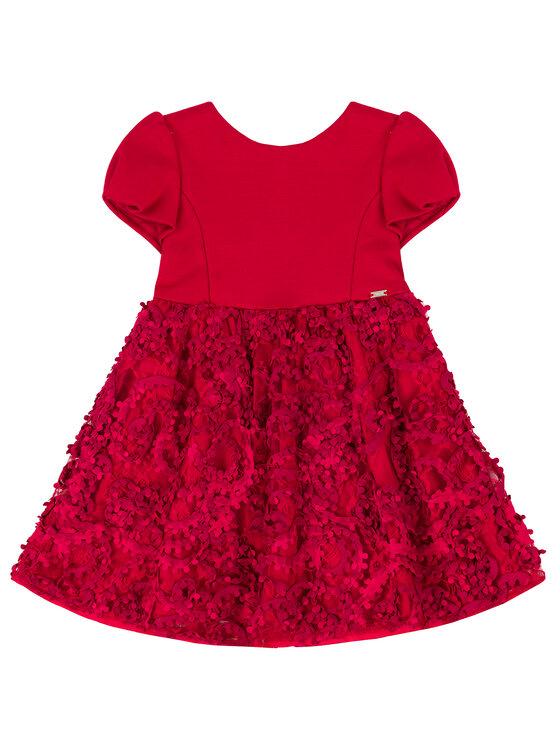 Mayoral Mayoral Elegantné šaty 4920 Červená Regular Fit
