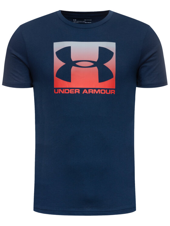 Under Armour Under Armour T-Shirt Ua Boxed Sportstyle 1329581 Σκούρο μπλε Loose Fit