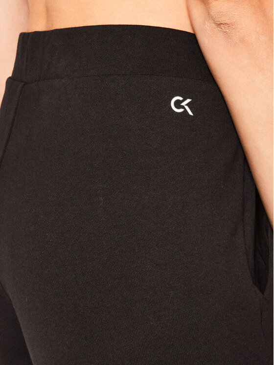 Calvin Klein Performance Calvin Klein Performance Pantaloni da tuta Essential Knit 00GWS0P663 Nero Regular Fit