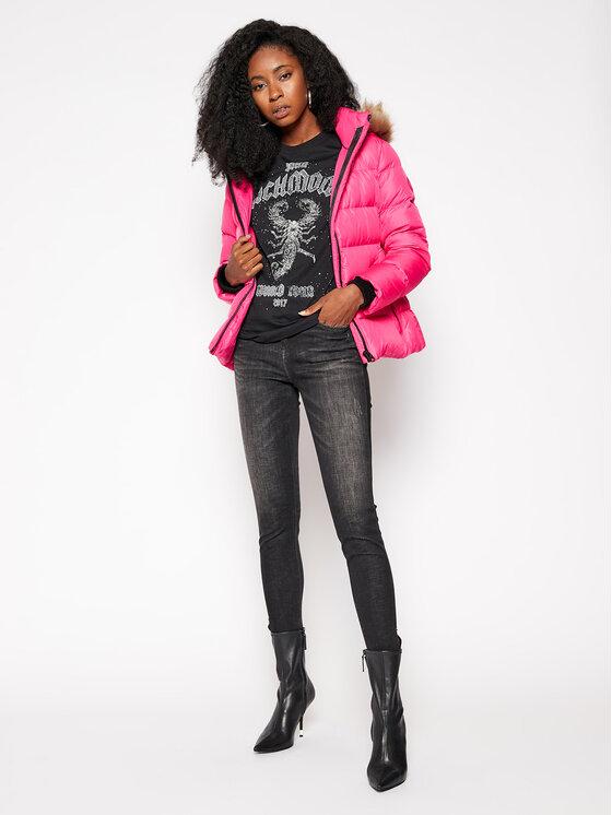 Calvin Klein Calvin Klein Vatovaná bunda Essential Real K20K202317 Růžová Regular Fit