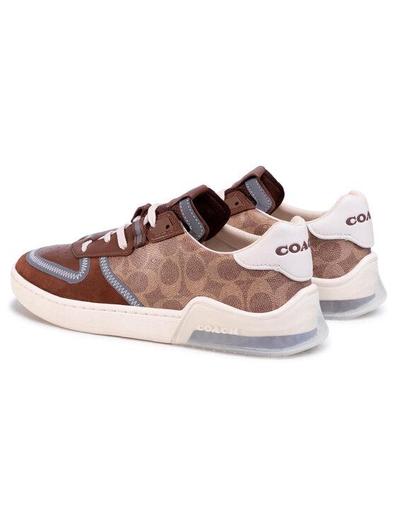 Coach Coach Sneakersy Ctysl Sig Crt G5015 10011275 Brązowy