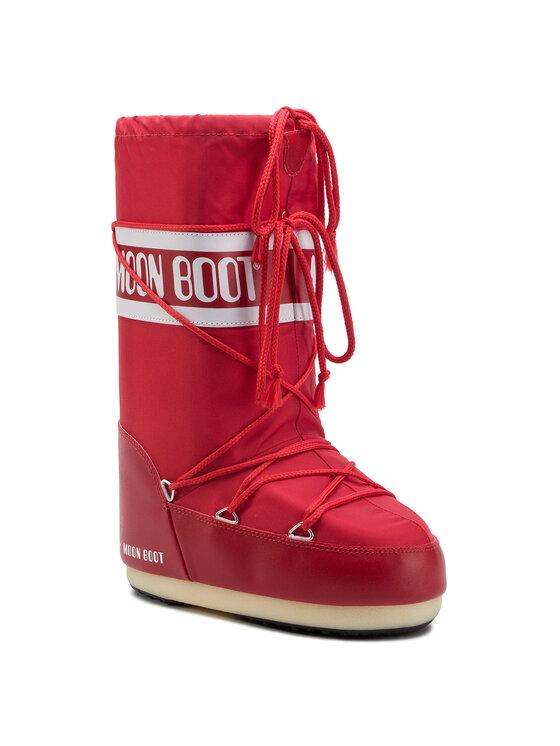 Moon Boot Moon Boot Sněhule Nylon 14004400003 Červená