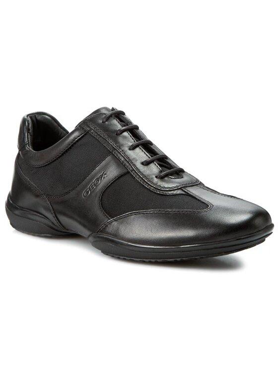 Geox Geox Sneakersy U City J U2269J 04311 C9999 Czarny