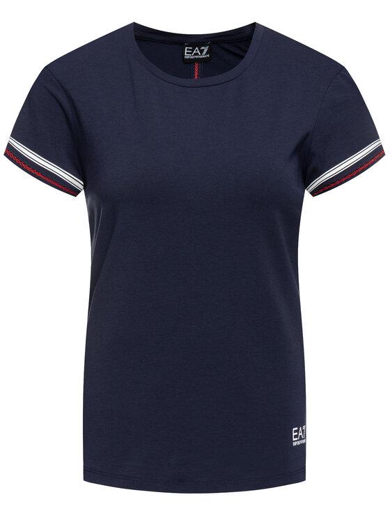 EA7 Emporio Armani EA7 Emporio Armani T-shirt 3GTT02 TJ28Z 1554 Blu scuro Regular Fit