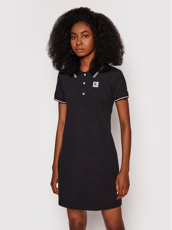 Starter Kasdieninė suknelė SDG-013-BD Juoda Regular Fit
