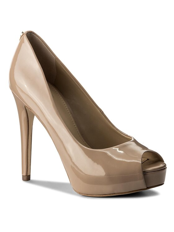 Guess Guess Обувки на ток Hadie10 FLHDE1 PAF07 Бежов