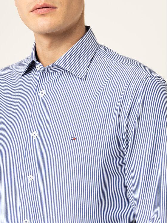 Tommy Hilfiger Tailored Tommy Hilfiger Tailored Chemise Poplin Stripe Classic TT0TT06461 Bleu Regular Fit