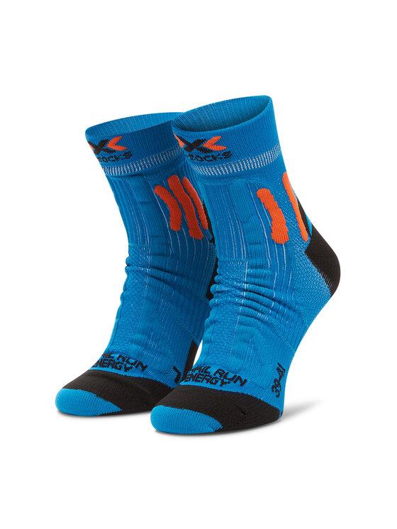 X-Socks Ilgos Vyriškos Kojinės Trail Run Energy XSRS13S19U Mėlyna
