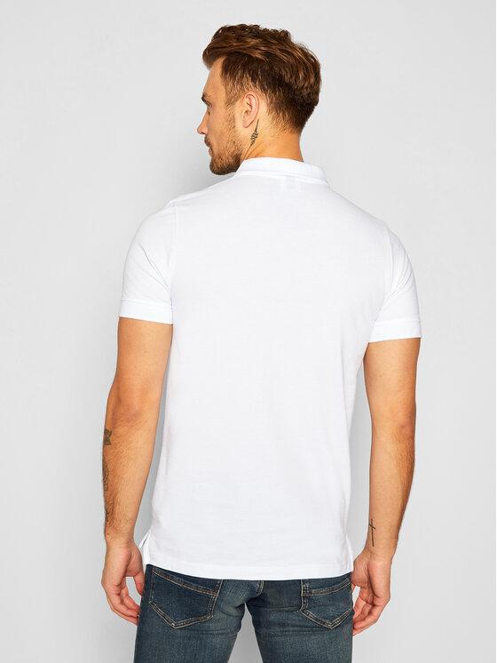 Ellesse Ellesse Polo Montura SHS04475 Biały Regular Fit