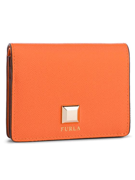 Furla Furla Малък дамски портфейл Mimi 1014162 P PBN8 Q26 Оранжев
