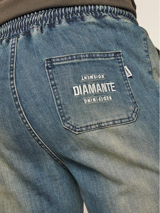 Diamante Wear Diamante Wear Joggery Unisex 5008 Niebieski Regular Fit