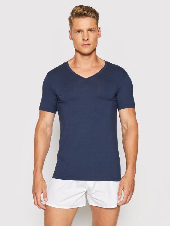 Hanro Apatiniai marškinėliai Superior 3089 Tamsiai mėlyna Slim Fit